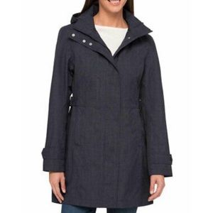Waterproof, Charcoal Trench Coat NWT